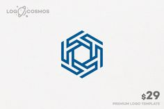 Hexagon Corp Logo by Logo Cosmos on @creativework247