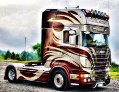 Rc Cars And Trucks, Show Trucks, Used Trucks, Big Rig Trucks, Custom Big Rigs, Custom Trucks, Ns 200, Diesel, Truck Paint