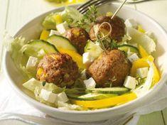 Mediterrane Weight Watchers-Rezepte Weight Watchers Mediterranean recipes: Meatballs Source by . Baked Spagetti, Spagetti Recipe, Plats Weight Watchers, Weight Watchers Meals, Healthy Eating Tips, Healthy Nutrition, Beef Recipes, Healthy Recipes, Vegetable Drinks