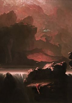 Sadak in Search of the Waters of Oblivion, 1812 by John Martin (English, 1789–1854)