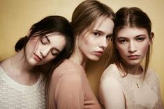33 Tempting Triplet Photoshoots - From Badass Biker Triplets to Eerie Sister Editorials (CLUSTER)