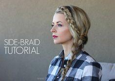 blushing basics: Side-Braid Tutorial