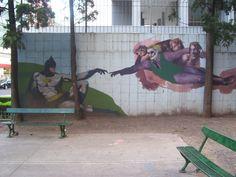 Jerónimo Salguero y Juan Francisco Seguí #Mural #paredesquehablan