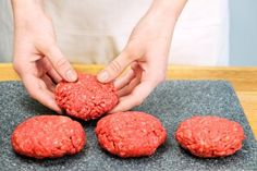Instructions for Broiling Hamburgers- I made fantastic burgers with these instructions. Not the recipe though