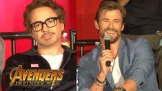 "#Avengers: #Infinity War"" FULL press conference with cast, creative team, and host Jeff Goldblum. #TomHiddleston #Loki"