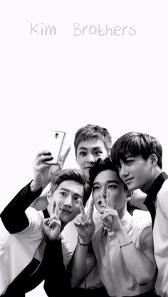 EXO || Suho, Chen, Xiumin and Kai wallpaper for phone
