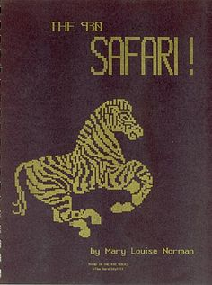 """Link to a book review of """"The 930 Safari"""" by Mary Louise Norman. The review is in German and English, by kind permission from Kerstin of the Strickforum blog."""