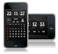 FlipTime iPhone app | Designer: Omletworks - http://www.omletworks.com | App: http://itunes.apple.com/app/fliptime/id315466610?mt=8
