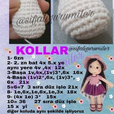 Crochet Dolls Texts Origami Elsa Doll Hair Build Your Own How To Make Crafts Tricot Amigurumi DollImage may contain: text – Sharing Women Crochet Doll Pattern, Crochet Dolls, Crochet Patterns, Crochet Hats, How To Make Toys, Crafts To Make, Afghan Scarf, Pencil Toppers, Good Fortune