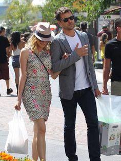a fashionable couple