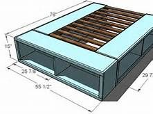 Large Bed Mechanism Pair For Diy Under Bed Storage