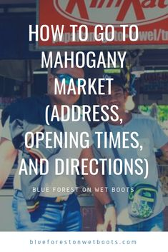 Mahogany Market is a public market in Tagaytay. It houses a complex for wet and dry goods, produce, and a canteen that is famed for its cheap bulalo. Tagaytay, Blue Forest, Philippines Travel, Dry Goods, Canteen, Wet And Dry, Travel Destinations, To Go, Public