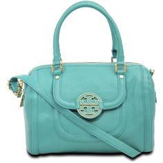 Tory Burch Amanda Middy bag ($595) ❤ liked on Polyvore
