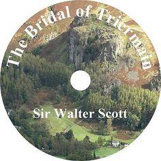 The Bridal of Triermain, Sir Walter Scott Romantic Poem Audiobook on 2 Audio CDs