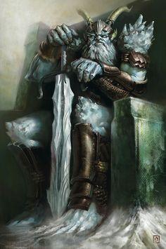 Grognur, Frost Giant Jarl.