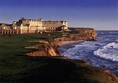 20th anniversary destination in April:).  The Ritz-Carlton, Half Moon Bay, just outside of San Francisco.  Your own personal firepit just outside your room and a view of the ocean...aahhh.