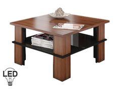 Konferenčný stolík - WIP - Futura 1 (slivka + lesk čierny)