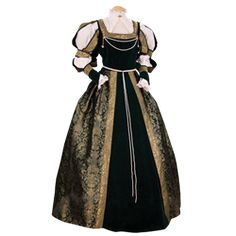 Women's Medieval Dresses and Gowns, Renaissance Gowns, and Period Wedding Dresses by Medieval Collectibles
