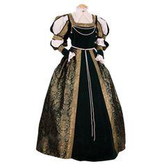 Women's Medieval Dresses and Gowns, Renaissance Gowns, and Period Wedding Dresses by Medieval Collectibles