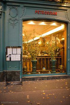 Petrossian, Paris ~ for the very best Caviar!