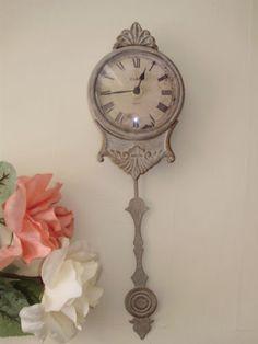 Sweet grey clock