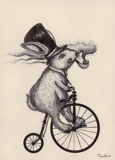 MUSBER Fancy Mr. Rabbit