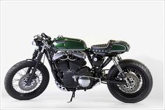 Harley-Davidson Sportster 1200 Nightster Café Racer. Abnormal Cycles, Milano, Italy.