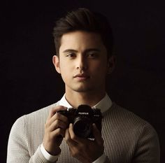 JamesReidforFujiFilmPH (ctto) James Reid Wallpaper, Filipino Models, Movie Talk, James Blue, Australian Actors, Jadine, Ideal Man, Attractive Guys, Handsome Faces