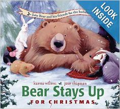 """Read """"Bear Stays Up for Christmas"""" by Karma Wilson available from Rakuten Kobo. Celebrate the holidays with Bear and his friends in this sweet picture book from bestselling author Karma Wilson! Bear's. Christmas Books For Kids, Christmas Fun, Christmas Presents, Christmas Movies, Amazon Christmas, Father Christmas, Christmas Countdown, Homemade Christmas, Beautiful Christmas"""