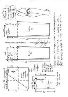Blazer spencer sem gola - DIY - molde, corte e costura - Marlene Mukai Kids Patterns, Sewing Patterns Free, Free Sewing, Sewing Tutorials, Free Pattern, Pattern Sewing, Make Your Own Clothes, Diy Clothes, Sewing Kids Clothes