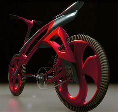 Futuristic design, Futuristic bike, track bike