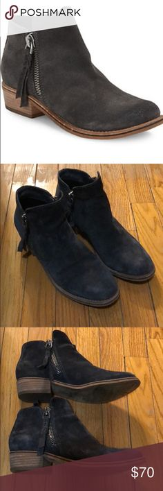 Dolce Vita Grey Suede Booties Dolce Vita Grey Suede Booties Size 6.5 Great condition and barely worn Dolce Vita Shoes Ankle Boots & Booties