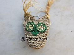 Vögel - Große Futtereule Papageienspielzeug SPENDE - ein Designerstück von YatasBayu bei DaWanda