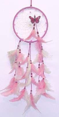 Native American Dream Catchers   Native American Pink Dreamcatchers