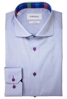 Collier Blue Men's Shirt