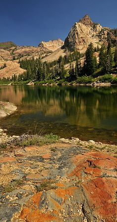 Lake Blanche, Utah  This is one of my favorite places in Utah.  The hike is challenging, but well worth the effort!