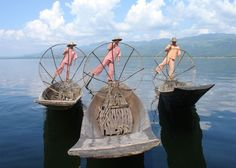 Leg rowers Inle Lake, Myanmar | Myanmar: The Golden Land | Country Holidays Redefining Travel