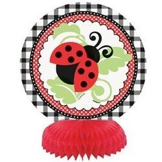 Lively Ladybug Mini Honeycomb Centerpieces (4 ct):Amazon:Toys & Games