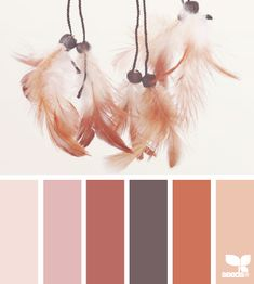 Feathered Tones - http://design-seeds.com/index.php/home/entry/feathered-tones12