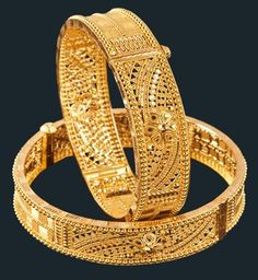 Designer Gold Bangles in Kolkata, West Bengal, India - M. P. Jewellers Private Limited