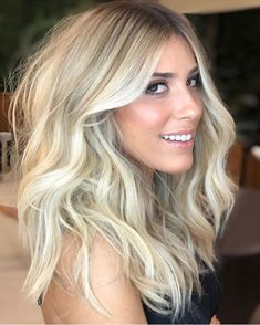 Balayage Human Hair Wigs better than four less thorough waterings. Mid Length Blonde Hair, Thick Blonde Hair, Cool Blonde Hair Colour, Baby Blonde Hair, Bright Blonde Hair, Blonde Hair Looks, Ash Blonde, Medium Blonde, Blonde Hair No Roots