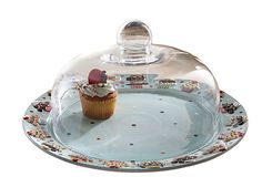 Confections Cake Plate with Dome on OneKingsLane.com...soo cute! too bad it's sold out