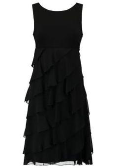 luxuar abendkleid mit zierperlenbesatz in grau schwarz online kaufen 9628730 p c online. Black Bedroom Furniture Sets. Home Design Ideas