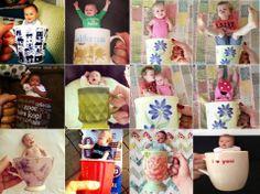 Baby in a mug