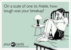 On a scale of one to Adele...