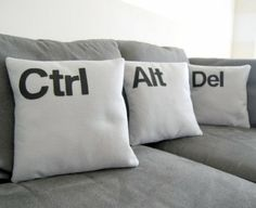 If we could do a couch in the office, I want these!