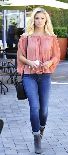 olivia holt. casual & beautiful!