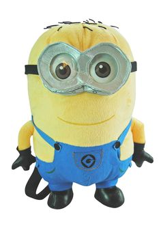 Includes Minions Despicable Me - Jerry Plush Backpack to match you party theme. Despicable Me 2 Minions, Minions Love, My Minion, Funny Minion, Funny Jokes, Happy Birthday Minions, Minion Costumes, Minion Banana, Minion Pictures