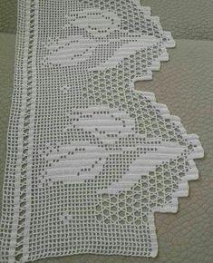 Diy Crafts Knitting, Diy Crafts Crochet, Diy Crafts Love, Crochet Projects, Crochet Edging Patterns, Crochet Borders, Crochet Flowers, Crochet Lace, Diy Crafts Paper Flowers