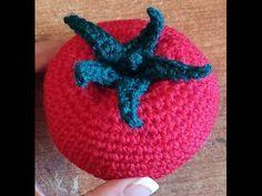 Pomodoro all'uncinetto - tutorial amigurumi - tomato crochet - - YouTube